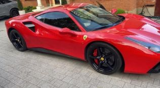 2016 FERRARI 488 GTB 2DR RED COUPE, PETROL, AUTOMATIC, 11K MILES, LEFT HAND DRIVE *NO VAT*