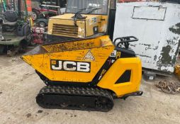 2019 JCB HTD-5 DIESEL TRACKED DUMPER, RUNS DRIVES AND WORKS WELL, ELECTRIC OR PULL START *PLUS VAT*