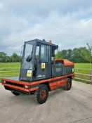 LINDE 5 TON S50 SIDE LOADER FORKLIFT, YEAR 2004, TRIPLE MAST, FREE LIFT, LIFTS UPTO 6.5 METRES