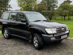 2006 TOYOTA LANDCRUISER AMAZON 4.2 DIESEL AUTO 7 SEAT BLACK ESTATE, 156,722 MILES WARRANTED