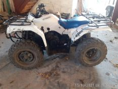 YAMAHA GRIZZLY 350 FARM QUAD BIKE, STARTS AND DRIVES WELL, AUTOMATIC *NO VAT*