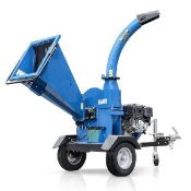"""NEW AND UNUSED 15100TE 420cc 4.5"""" TOWABLE PETROL WOOD CHIPPER, RRP OVER £2400 *PLUS VAT*"""