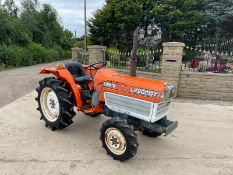 KUBOTA L2202DT COMPACT TRACTOR, RUNS AND DRIVES, 22hp, SHOWING 2135 HOURS *PLUS VAT*