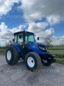 2014 ISEKI TJA8080 4 WHEEL DRIVE TRACTOR, 953 GENUINE HOURS, GRASS TYRES, SONY RADIO *PLUS VAT*