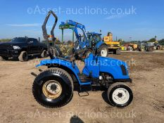 2005 NEW HOLLAND TC27DA 27hp 4WD COMPACT TRACTOR, RUNS DRIVES AND WORKS WELL, ROAD REGISTERED