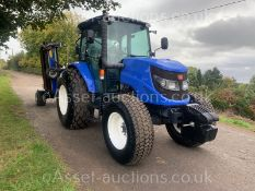 2014 ISEKI TJA8080 86hp 4WD TRACTOR, RUNS DRIVES AND WORKS, SHOWING A LOW AN GENUINE 960 HOURS