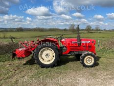 YANMAR YM2820D TRACTOR, RUNS AND DRIVES & WORKS, SHOWING 2233 HOURS, 3 POINT LINKAGE *PLUS VAT*