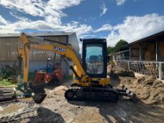 2010 JCB 8030ZTS 3 TON DIGGER, RUNS DRIVES AND DIGS, SHOWING A LOW AND GENUINE 2748 HOURS *PLUS VAT*