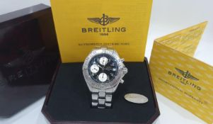 BREITLING CHRONOGRAPH MENS WATCH MINT CONDITION *NO VAT*