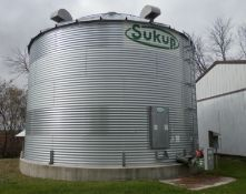SUKUP 10,000 BU GRAIN BIN/GRAIN DRYING BIN (To Be Removed)