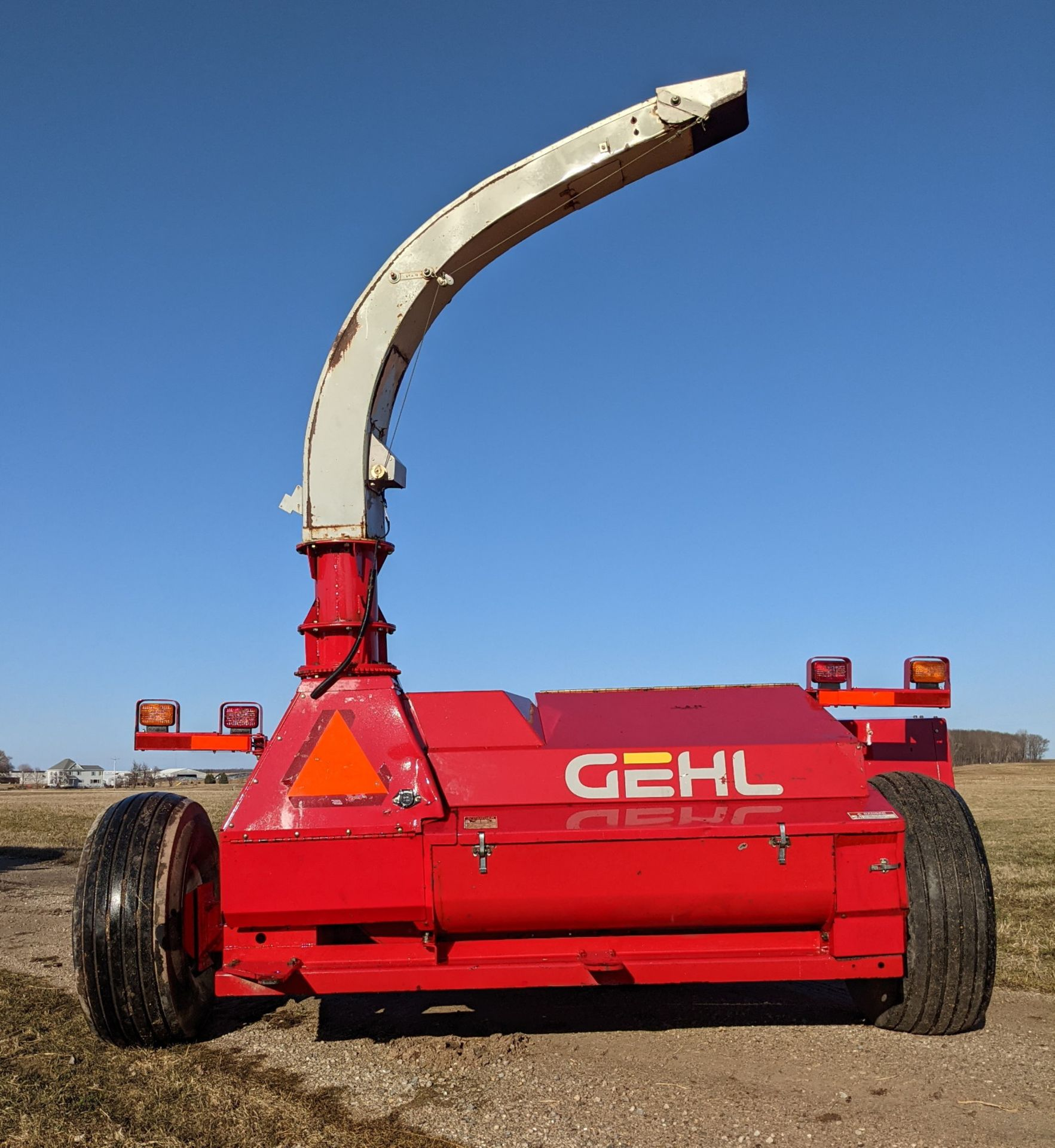 GEHL 1085 FORAGE CHOPPER W/WIDE HAYHEAD - Image 3 of 8