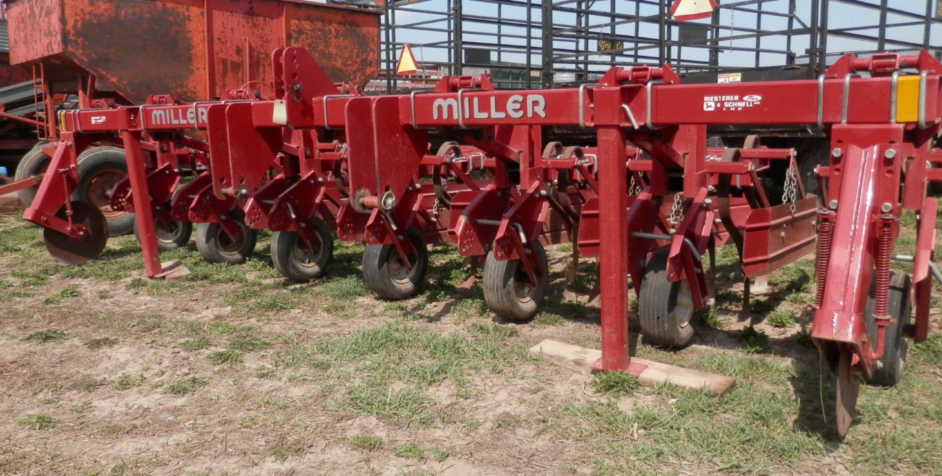 MILLER 6R HI CLEARANCE ROW CROP CULTIVATOR