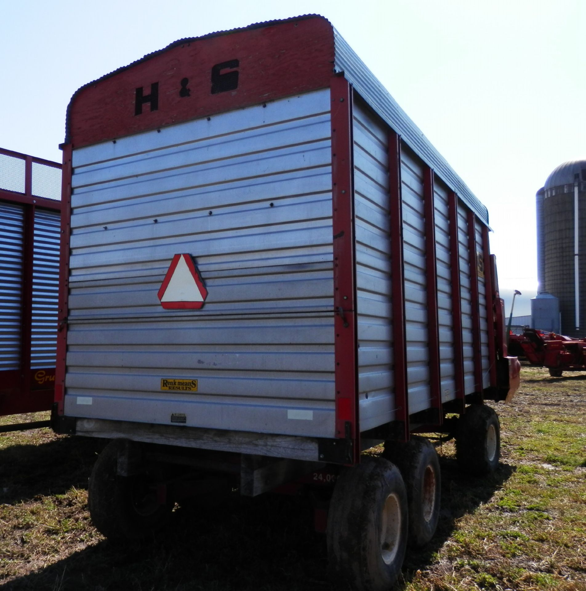 H&S XL-88 16' LH FORAGE WAGON - Image 3 of 6