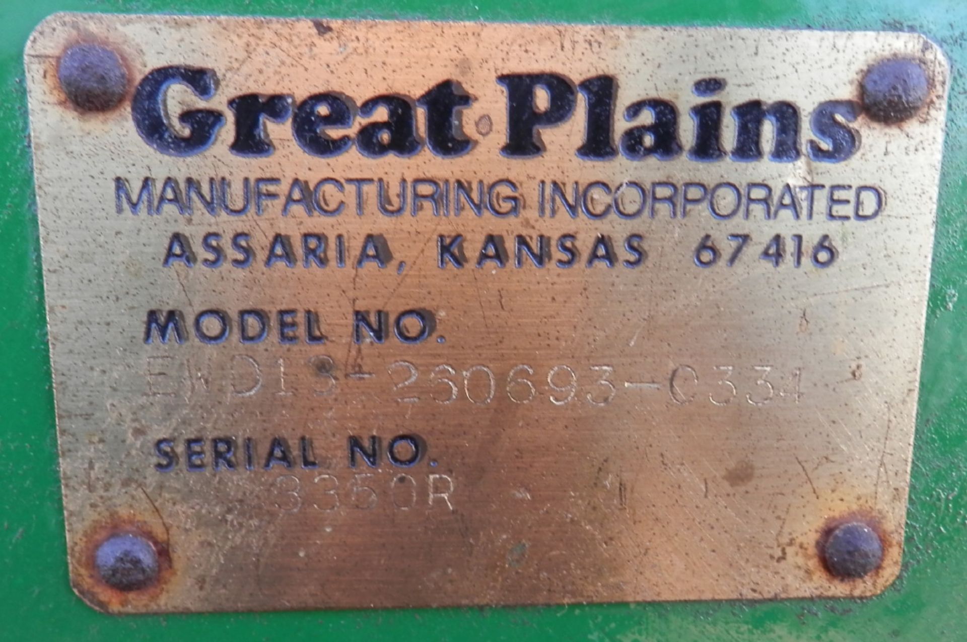 GREAT PLAINS SURESTAND 13 MDL EWD13-260693 26x6 GRAIN DRILL - Image 10 of 11