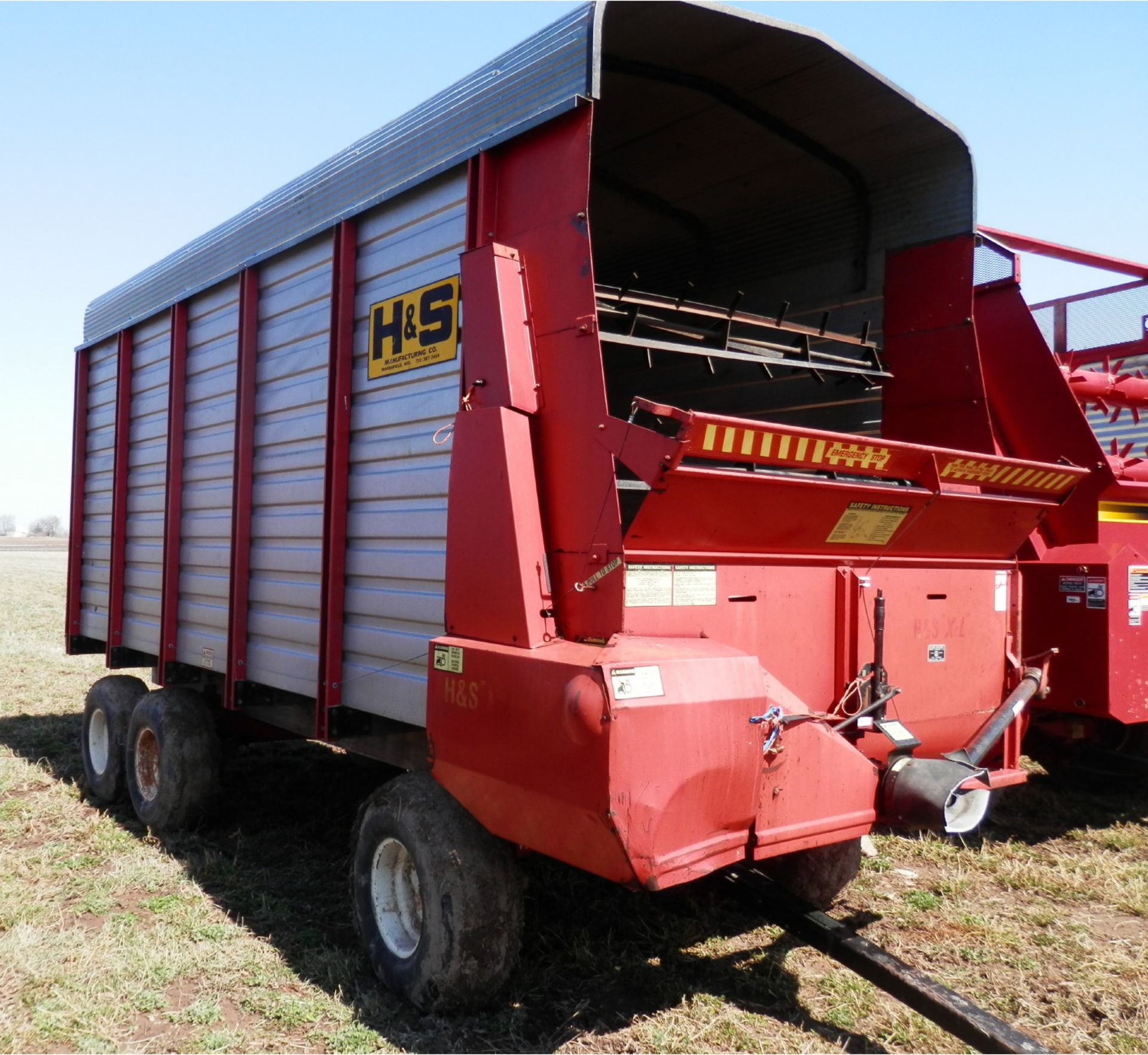 H&S XL-88 16' LH FORAGE WAGON - Image 2 of 6