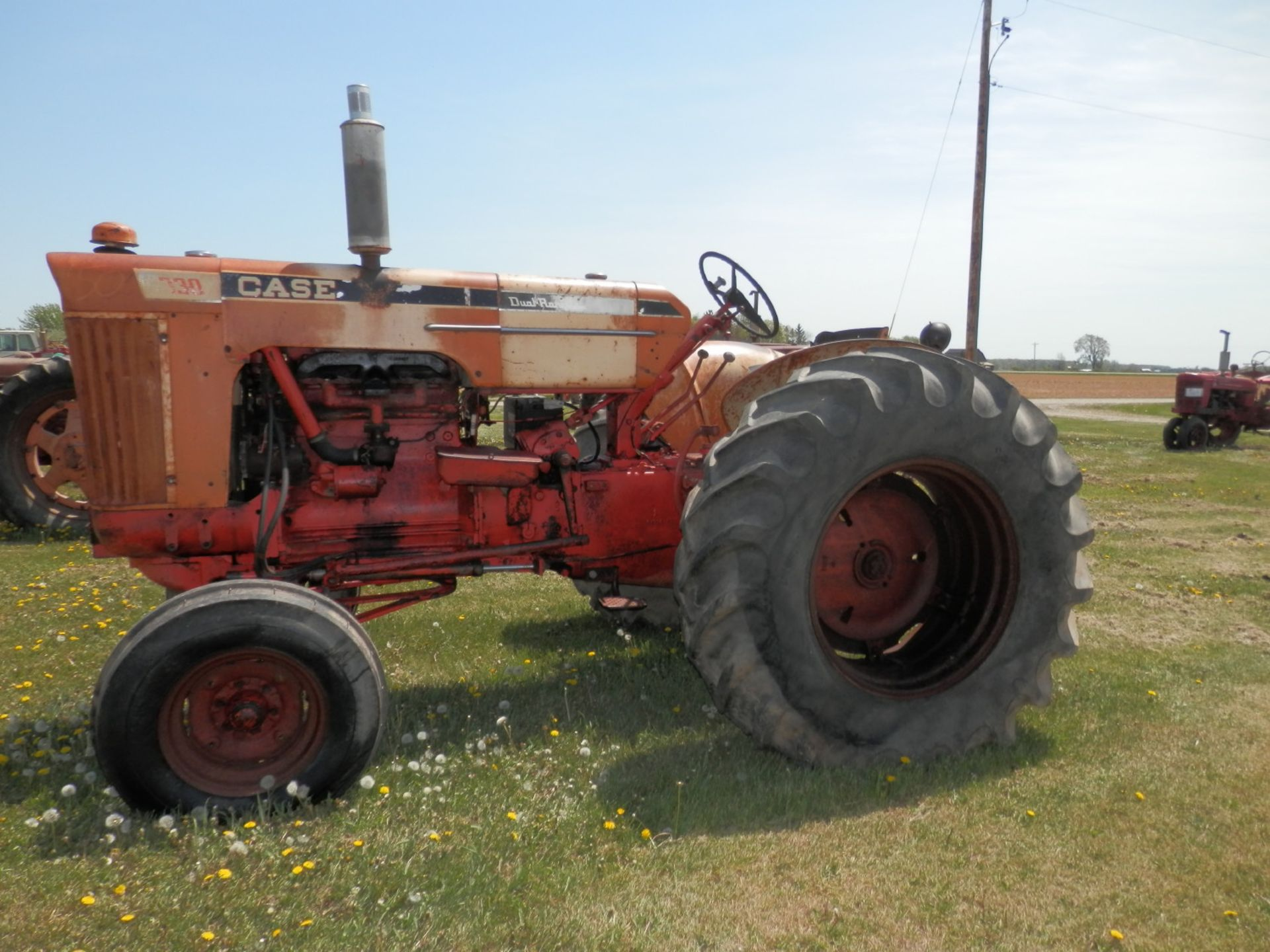 JI CASE 730 GAS TRACTOR - Image 5 of 10