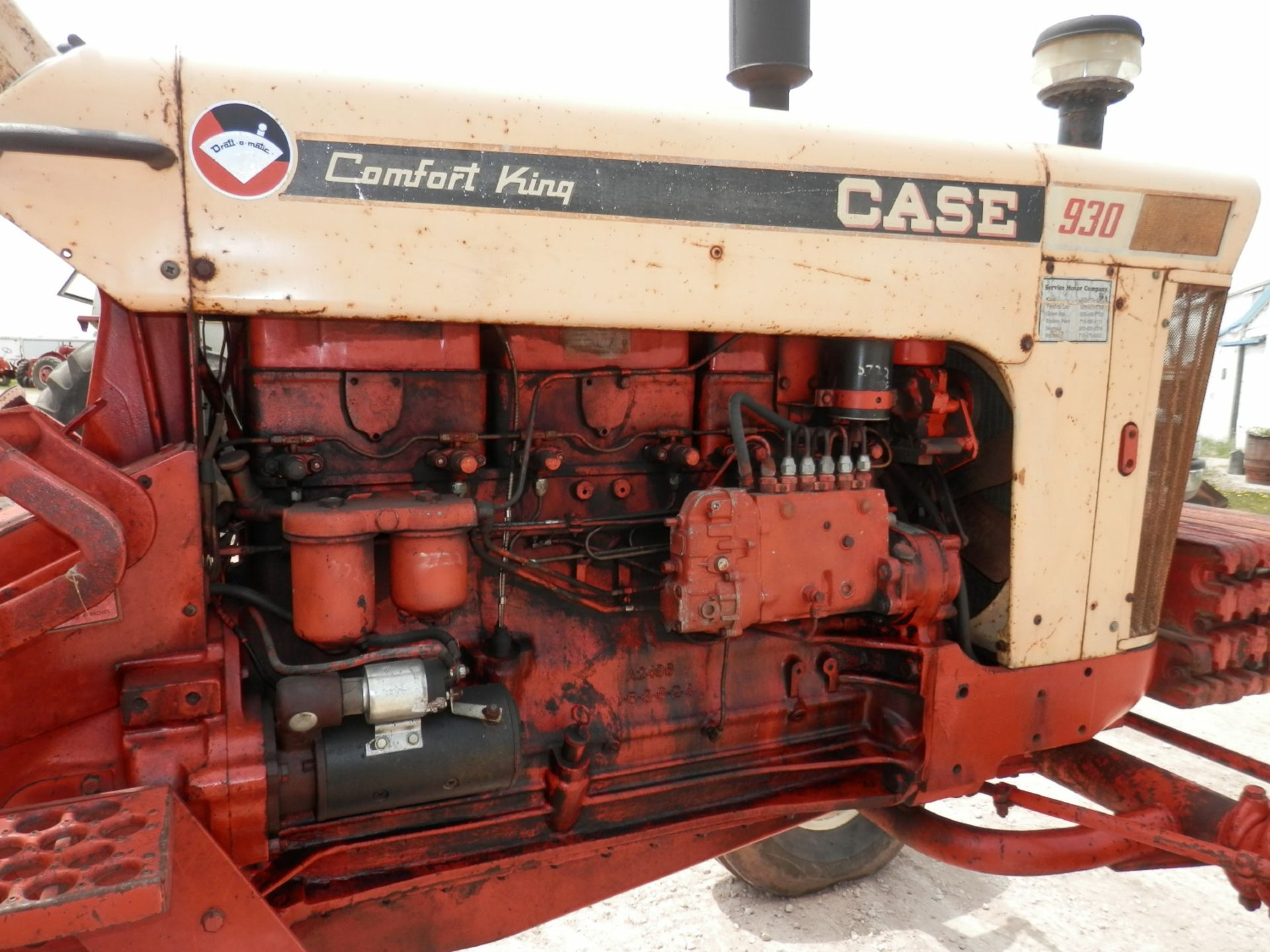 CASE 930 COMFORT KING TRACTOR - Image 7 of 9