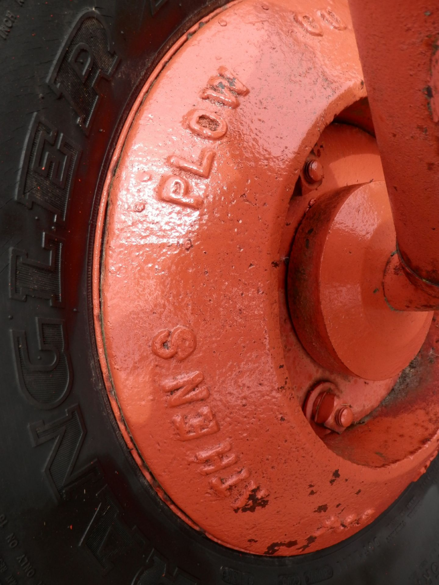 ALLIS CHALMERS DISC PLOW - Image 5 of 6