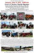International, Oliver, White, Case, Minneapolis Moline, and More Tractors