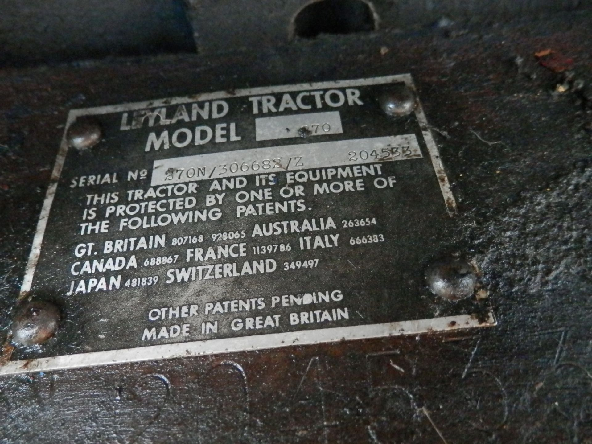 LEYLAND 270 DSL. TRACTOR - Image 8 of 8