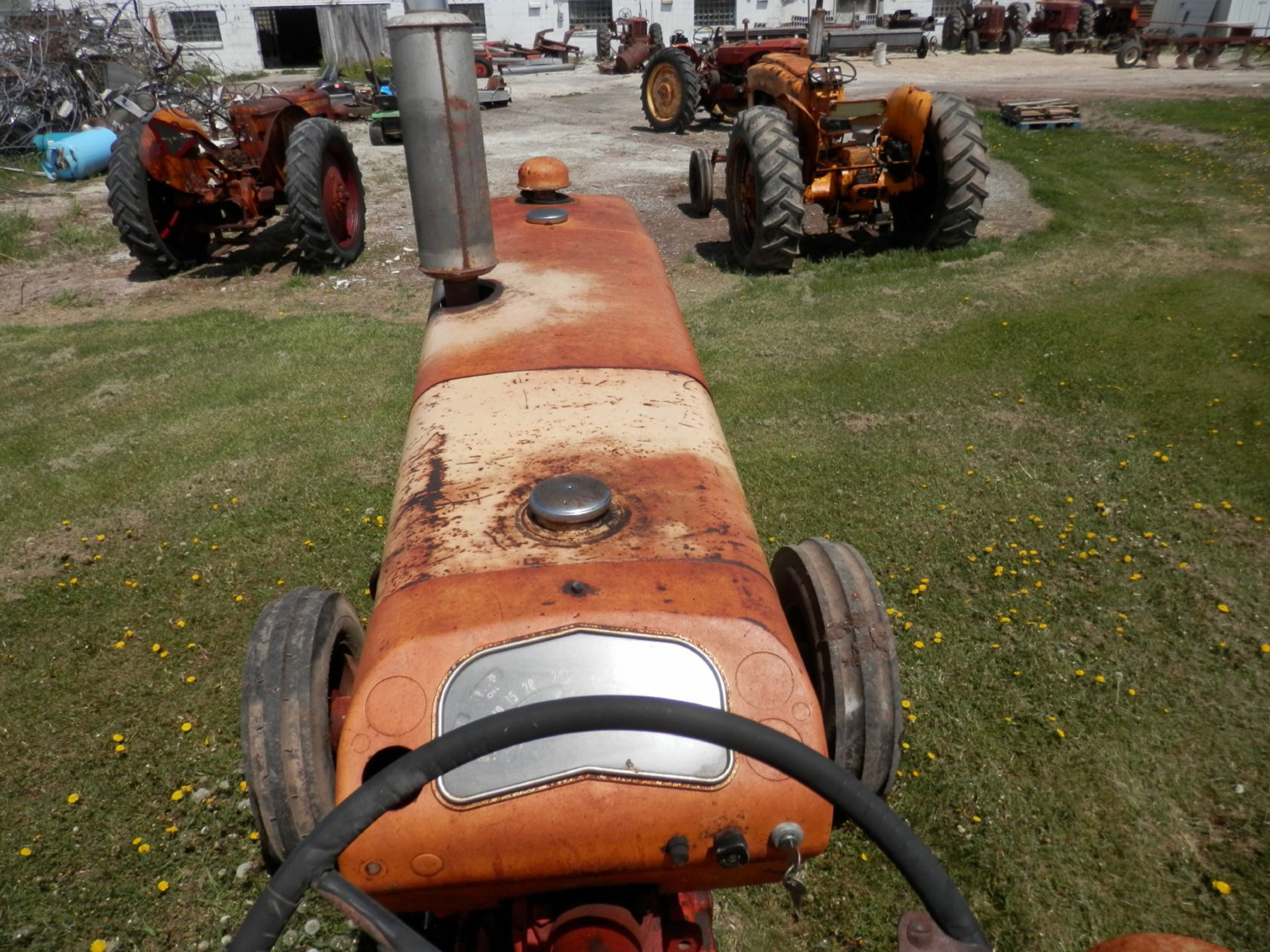 JI CASE 730 GAS TRACTOR - Image 7 of 10