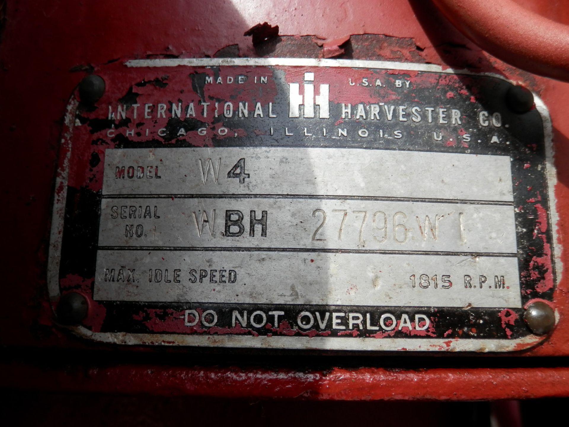 IH MC CORMICK W-4 STANDARD TRACTOR - Image 11 of 11