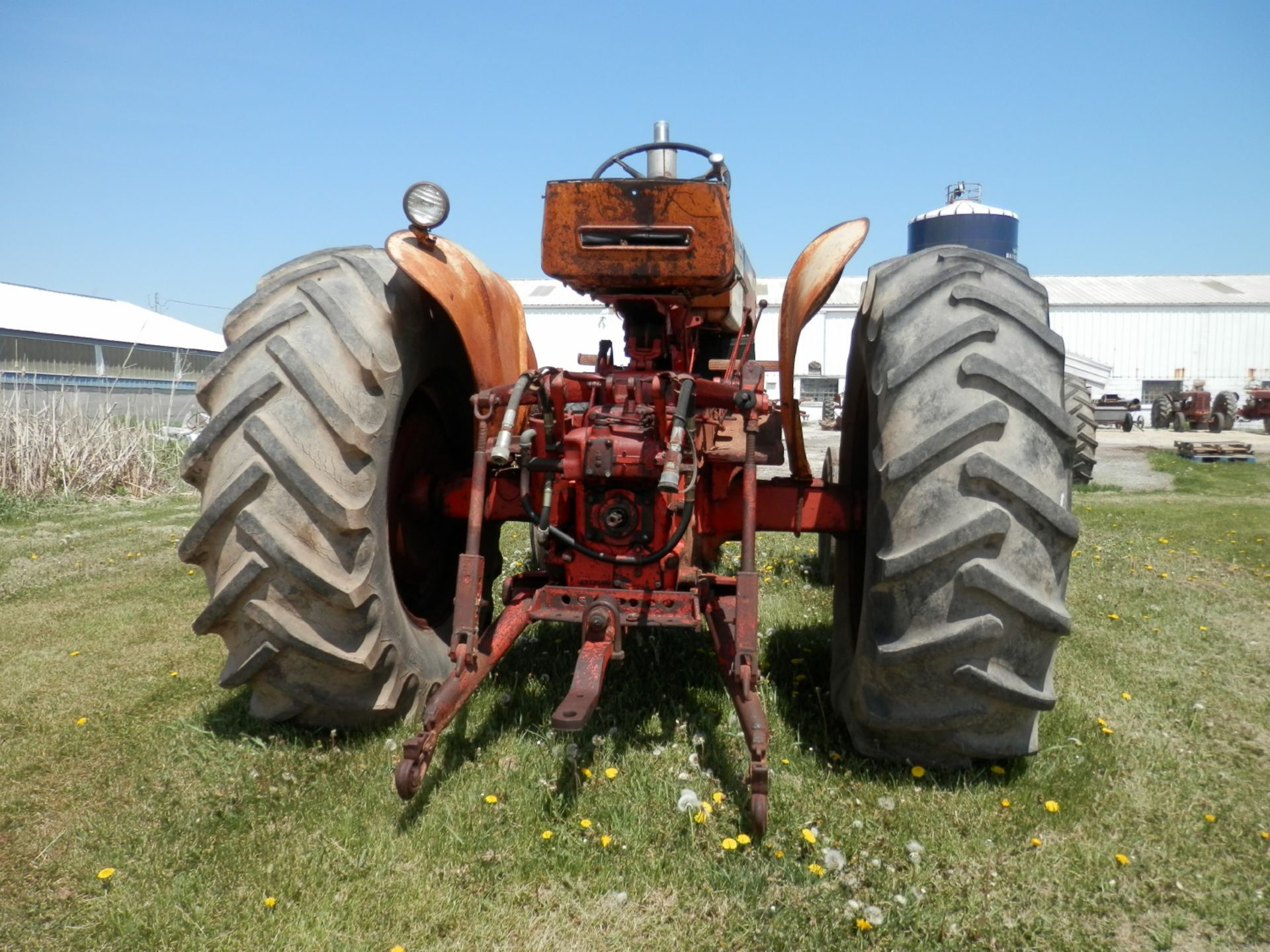 JI CASE 730 GAS TRACTOR - Image 6 of 10