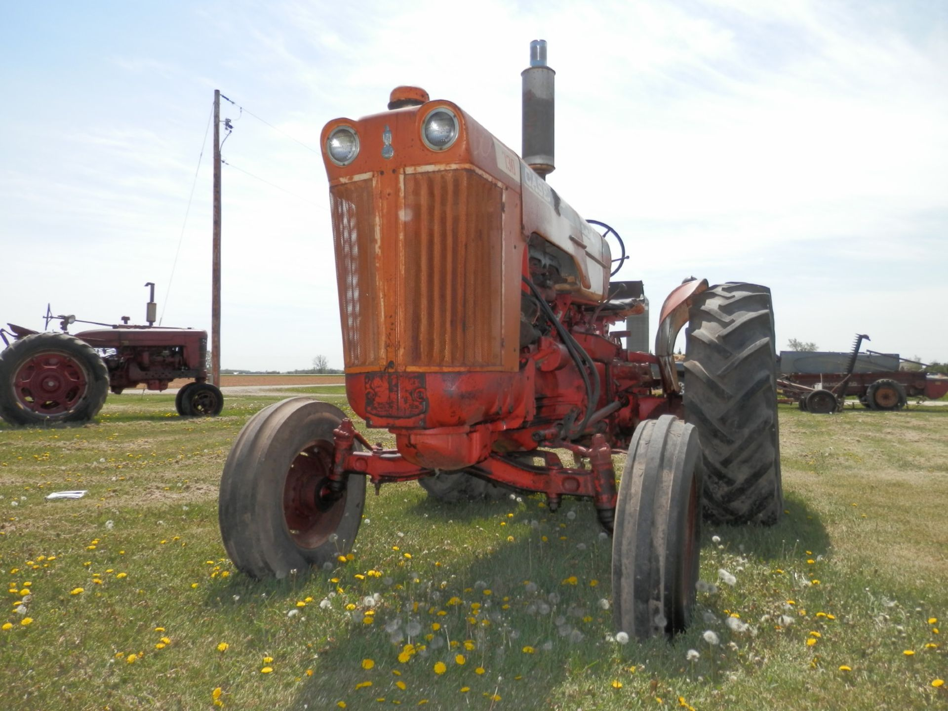 JI CASE 730 GAS TRACTOR - Image 4 of 10