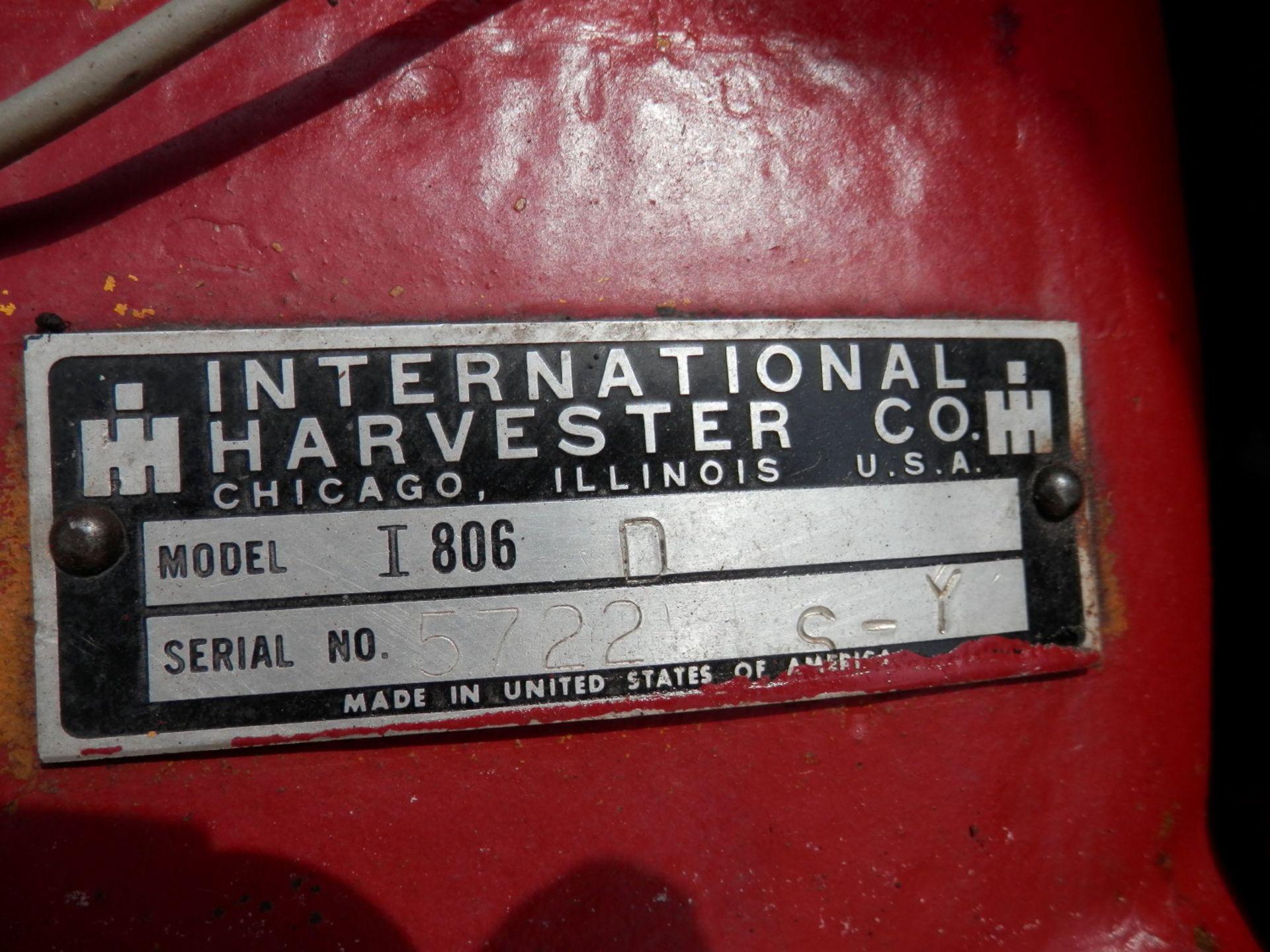 INTERNATIONAL i-806 TRACTOR w/ICE BOX CAB - Image 10 of 10