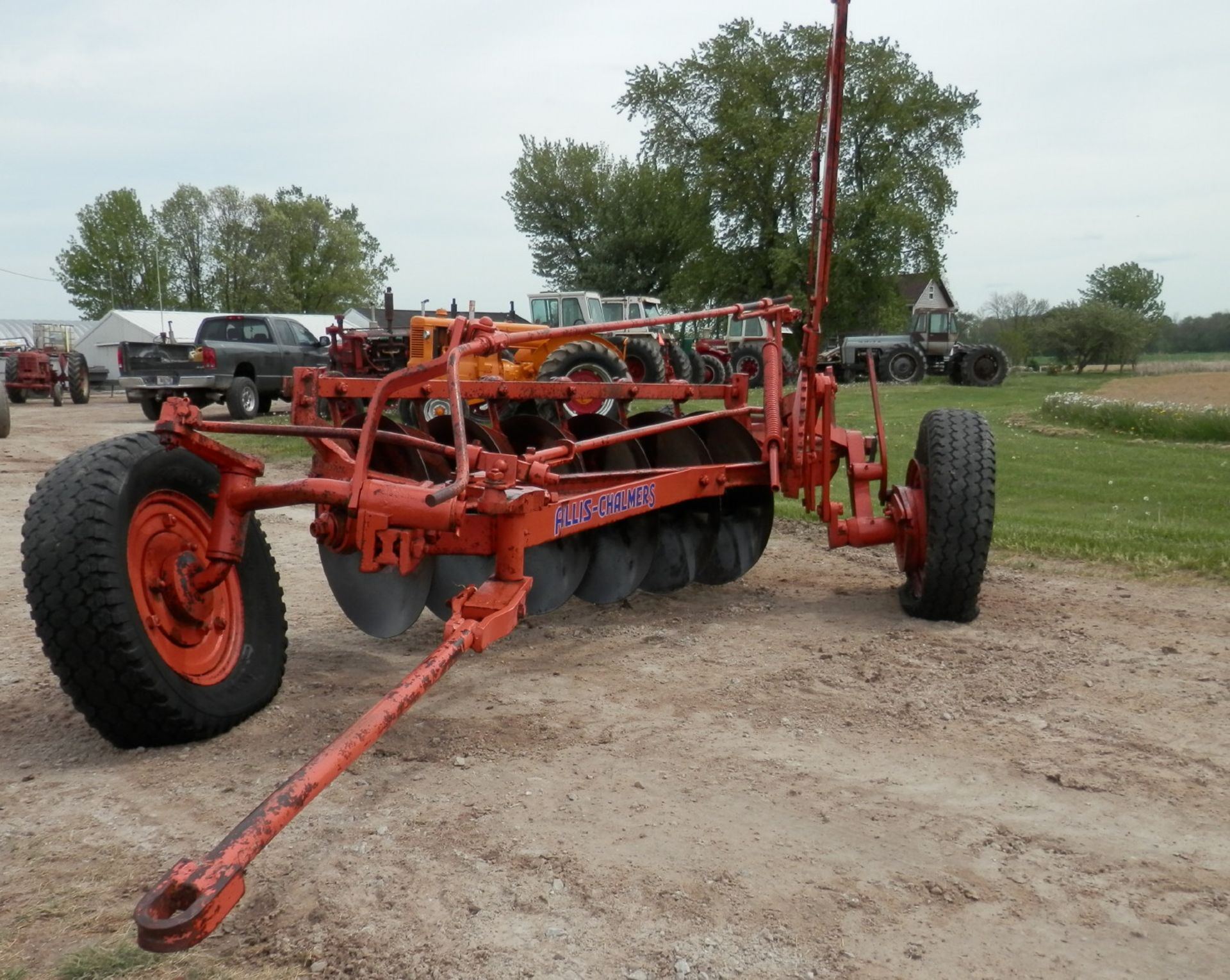 ALLIS CHALMERS DISC PLOW - Image 2 of 6
