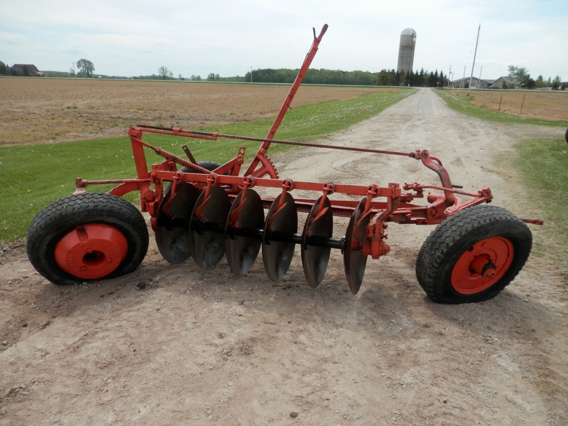 ALLIS CHALMERS DISC PLOW - Image 3 of 6