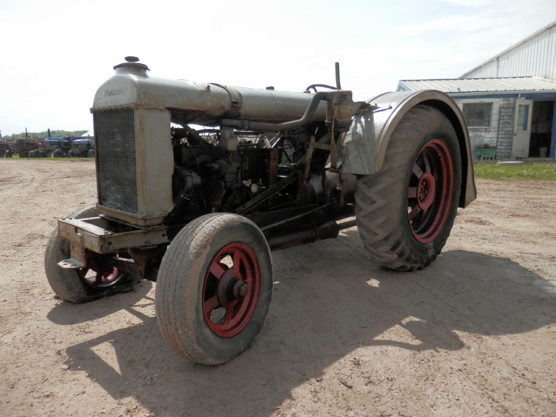 """FORDSON """"DONKEY"""" TRACTOR"""