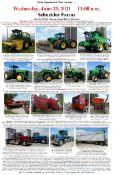 JD Pro Drive 7780 SP Harvestor, JD 9660 Combine, JD Tractors, & More!