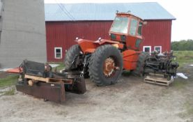 ALLIS CHALMERS 8550 4x4 TRACTOR, PARTS or PROJECT SN 1410