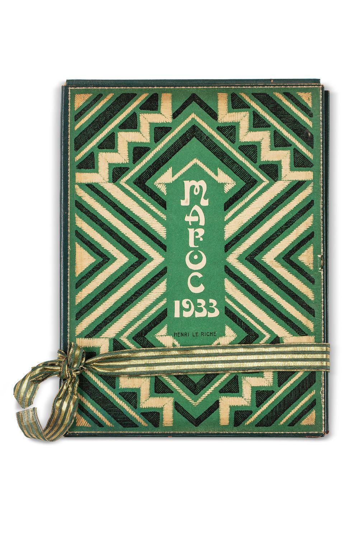 LE RICHE (Henri).Maroc, 1932-1933Carnet de voyage illustré de trente gravures originales en noir.