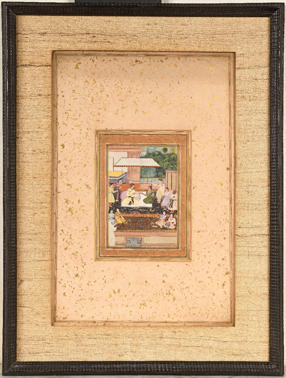 Portrait présumé du Prince moghol Daniyal Mirza (1572-1605)Inde moghole, vers 1610-1620Attribuable à - Image 2 of 5