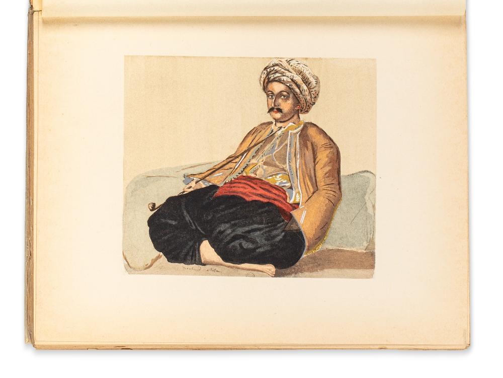 MARÇAIS (Georges)Le Costume musulman d'Alger. Paris, Plon, 1930.In-4 broché, couv. imprimée. 38 - Image 2 of 2
