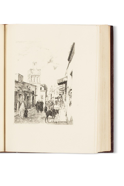 MARCAIS GeorgesVilles et campagnes d'Algérie, eaux-fortes de J. Bersier, E. Bouchaud, E. Corneau.