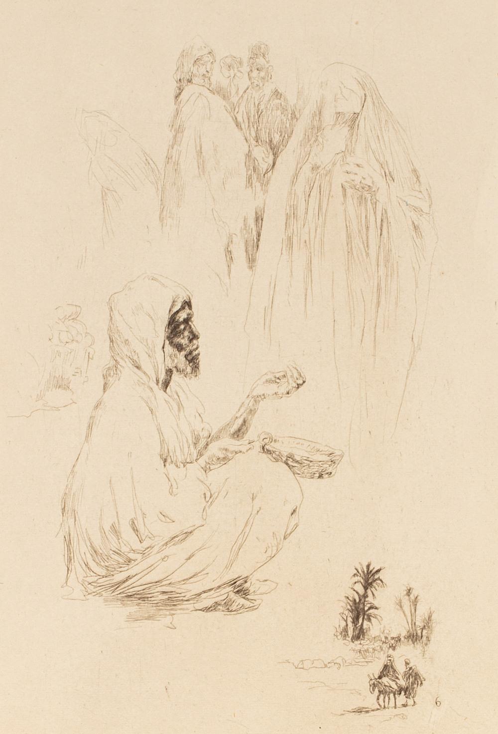 LE RICHE (Henri).Maroc, 1932-1933Carnet de voyage illustré de trente gravures originales en noir. - Image 2 of 2