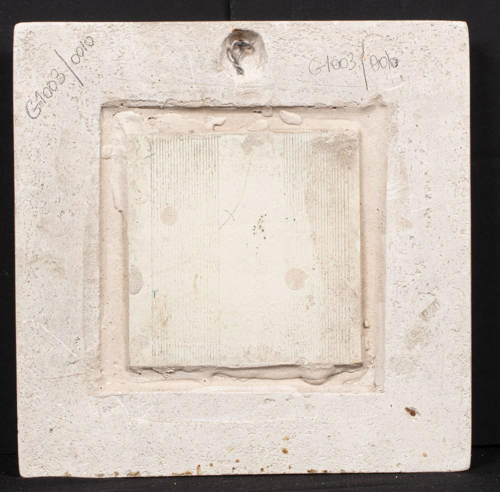 Abdelaziz Gorgi (1928 Tunis - 2008)Souq El AttarineSouq El Attarine Céramique émaillée 29 x 29 cm - Image 3 of 3