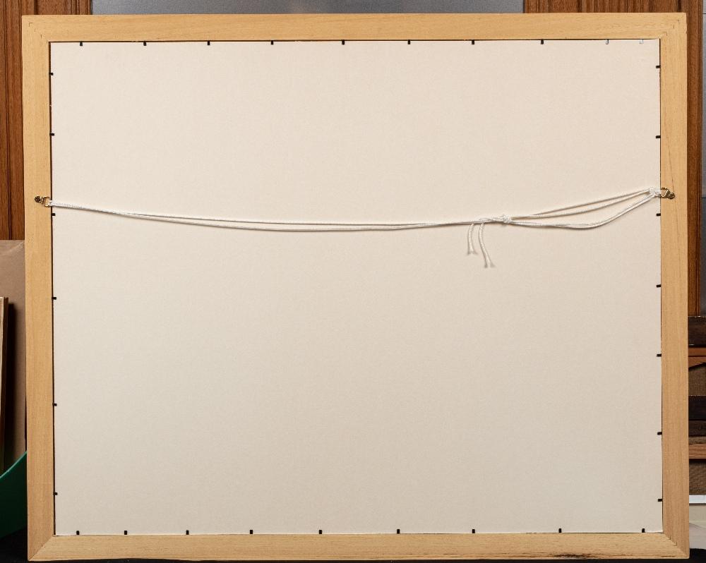 Pat WILSON (Actif au XX ème siècle)La procession du MahmalHuile sur carton 81 x 100 cm Signé en - Image 3 of 3