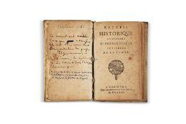 Empire OttomanRecueil historique contenant diverses pièces curieuses de ce temps. Cologne,