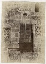 Auguste SALZMANN (1824-1872)Jérusalem, convent arménien, ornements, 1 Tirage sur papier salé d'après