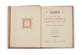 DINET (Etienne) & BEN IBRAHIM (Sliman)La vie de Mohammed prophète d'Allah. Paris, Piazza, 1918In-4