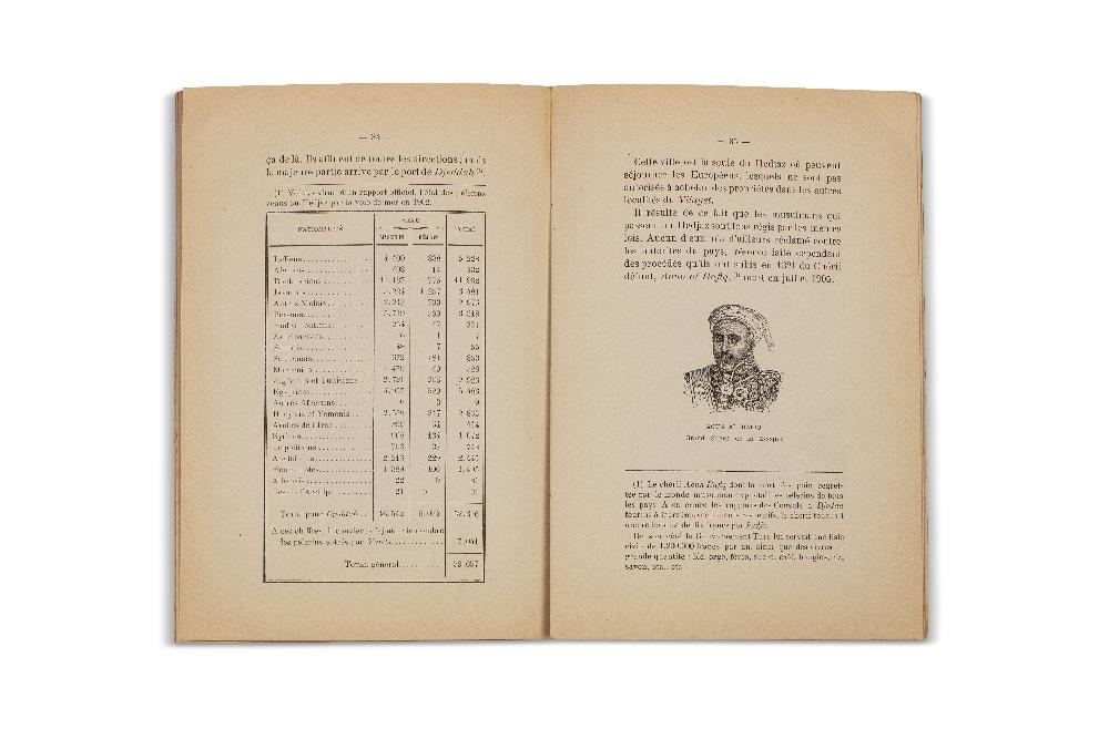 M'hamed BEL-KHODJA (1869-1943)Le Pèlerinage de La MecqueTunis, 1906, publication après parution - Image 2 of 3