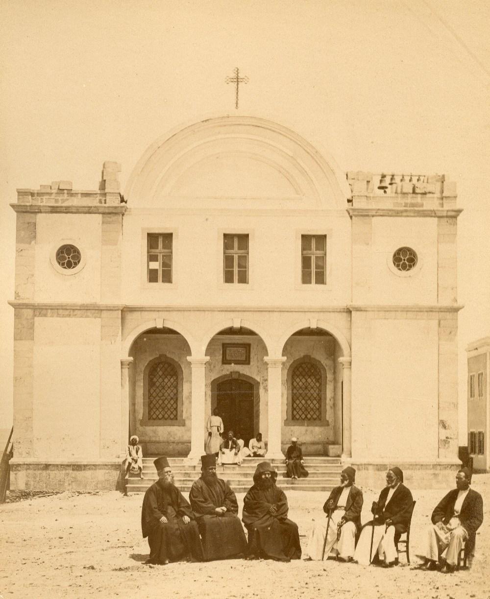 J.X. ou Ivan RAOULT (act.1870-1884)Sinaï , Anciennes écritures Arabes du Sinaï, Eglise de Djebel