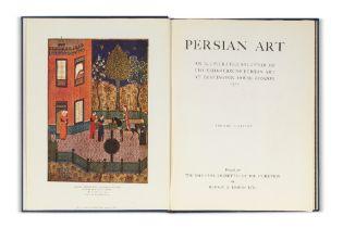 [Art persan]. Persian Art. An illustrated souvenir of the exhibition of Persian art at Burlington