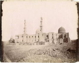 Gabriel LEKEGIAN (actif 1870-1890) et autresEgypte, Le Caire Tombeau de Khallif, Mosquée du Sultan