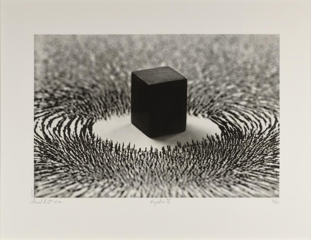 Ahmed MATER (Arabie Saudite 1979)Magnetism II, 2012Photogravure 62 x 81 cm (la planche) 42 x 63