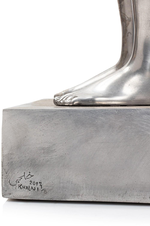 Mohammad REZA KHALAJI (Téhéran 1974)Sans titre, 2017Aluminium 81,5 x 32,5 x 20 cm Edition 1/8 Signé, - Image 4 of 5